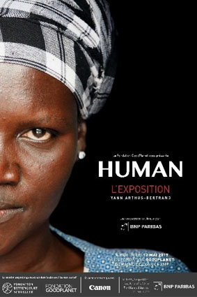 EXPOSITION affiche Human